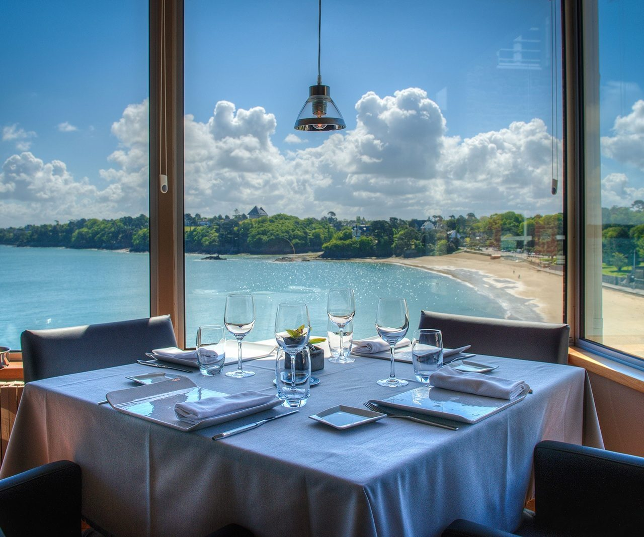 restaurant vue sur mer didier meril restaurant gastronomique dinard. Black Bedroom Furniture Sets. Home Design Ideas